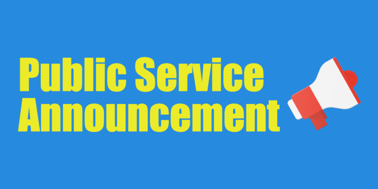 Public Service Announcement blog feature image